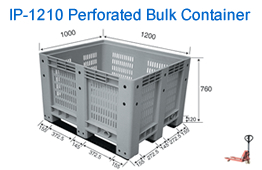 IP-2010 Perforated Bulk Container